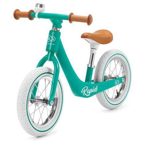 Pozostałe zabawki, KinderKraft rower Balance Rapid Midnight Green