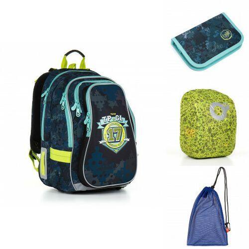 Tornistry i plecaki szkolne, Plecak szkolny Topgal CHI 878 D - Blue