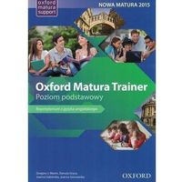 Książki do nauki języka, Oxford Matura Trainer ZP + online practice - Praca zbiorowa (opr. broszurowa)