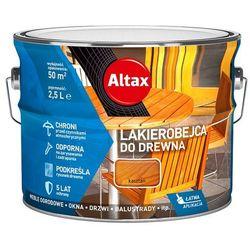 ALTAX- lakierobejca do drewna, kasztan, 2.5 l