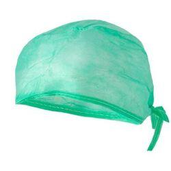 Czepek na troki wiązany 100szt zielony