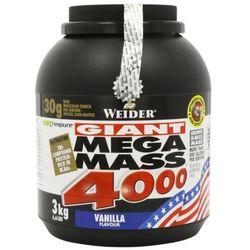 WEIDER Mega Mass 4000 - 3000g - Strawberry