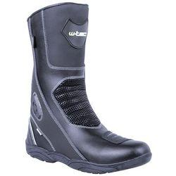Skórzane buty motocyklowe W-TEC NF-6050, Czarny, 43