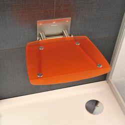 Ravak siedzisko prysznicowe Ovo B orange ( pomarańczowe) B8F0000017
