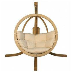Fotel wiszący do ogrodu ecru - Parys 2X