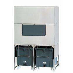 Zasobnik na lód ze stali nierdzewnej, 1000+2x108 kg, 1560x1330x2480 mm   NTF, DRB 2500