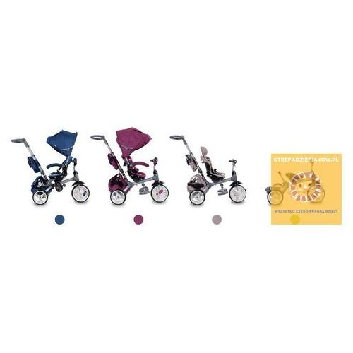 Rowerki trójkołowe, Trójkołowiec Little Tiger niebieski Sun Baby J01.007.1.2