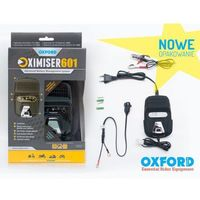 Akumulatory do motocykli, OXFORD ŁADOWARKA DO AKUMULATORÓW 12V OXIMISER 601 EL601