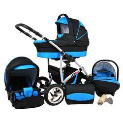 Sun Baby Wózek wielofunkcyjny Largo 3w1, niebieski - BEZPŁATNY ODBIÓR: WROCŁAW!