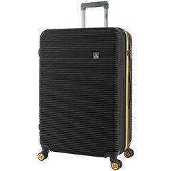 National Geographic Abroad duża walizka na kółkach / 76 cm / czarna - czarny