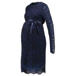 MAMALICIOUS MLWILMA DRESS Sukienka koktajlowa black iris