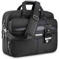 "Elegancka torba na laptopa 15,6"" cala czarna ZAGATTO"