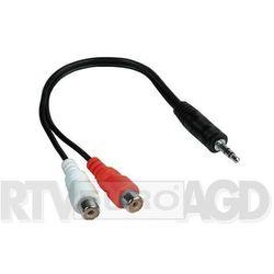 Hama 42190 adapter jack 3,5 mm - 2x RCA