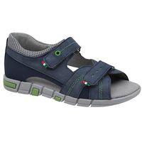 Sandały dziecięce, Sandałki dla chłopca KORNECKI 6337 Granatowe Niebieskie - Granatowy ||Niebieski