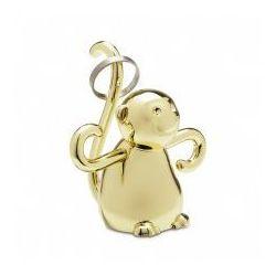 Wieszak na biżuterię Zoola Małpka Brass
