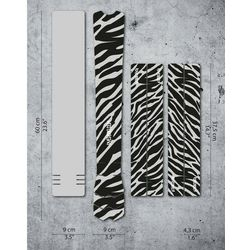 DYEDBRO Zebra Frame Protection Kit, przezroczysty/czarny 2021 Akcesoria do ram Przy złożeniu zamówienia do godziny 16 ( od Pon. do Pt., wszystkie metody płatności z wyjątkiem przelewu bankowego), wysyłka odbędzie się tego samego dnia.