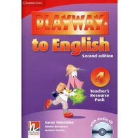 Książki do nauki języka, Playway to English 4 2nd Edition Teacher's Resource Pack + CD (opr. miękka)
