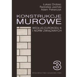 Konstrukcje murowe. Wg Eurokodu 6 i norm związanych - Łukasz Drobiec (opr. twarda)