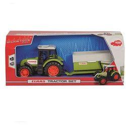 Traktor Claas z przyczepą, 36 cm