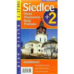 Siedlce Mińsk Mazowiecki Biała Podlaska plan miasta (opr. miękka)