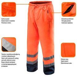 Spodnie robocze wodoodporne pomarańczowe M NEO