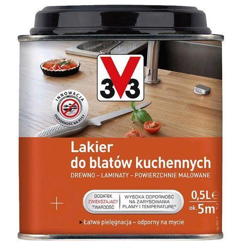 Lakiery, Lakier do blatów kuchennych V33 satyna 0,5 l