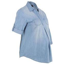 """Bluzka ciążowa z bawełny bonprix jasnoniebieski """"bleached"""""""
