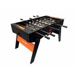 Riley RFFT-46, stół do gry w piłkarzyki, metalowe drążki, łożyska kulkowe, 143 x 82 cm