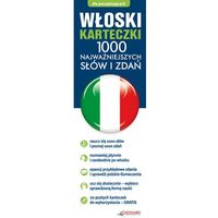 Książki do nauki języka, Włoski. Fiszki. 1000 Najważniejszych Słów I Zdań (opr. kartonowa)