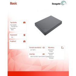 Zewnętrzny dysk twardy USB 3.0 Seagate Basic 1TB