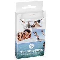 Papiery fotograficzne, HP ZINK papier fotograficzny (5 x 7,6 cm, tylna strona papieru jest samoprzylepna)
