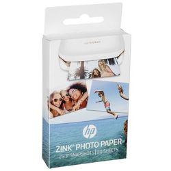 HP ZINK papier fotograficzny (5 x 7,6 cm, tylna strona papieru jest samoprzylepna)