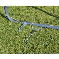 Piłka nożna, Kotwy do bramek piłkarskich wykonanych z rury o średnicy 30 - 40 mm