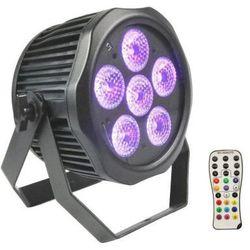 Fractal PAR LED 6 x 12 W 6 in 1 LED IP65 BATT - reflektor LED zewnętrzny akumulatorowy Płacąc przelewem przesyłka gratis!