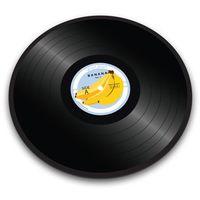 Podkładki na stół, Joseph Joseph - Banana Vinyl Podkładka okrągła