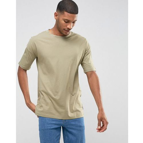 T-shirty męskie, Jack & Jones Core Oversized T-Shirt - Green