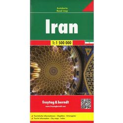 Iran. Mapa 1:1 500 000 (opr. twarda)