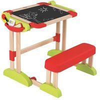 Tablice szkolne, Smoby drewniany stolik 2 w 1 - BEZPŁATNY ODBIÓR: WROCŁAW!