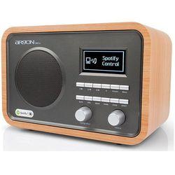 ARGON AUDIO iNet2+ CHERRY - radio DAB+ z możliwością zdalnego sterowania z bezpłatnej aplikacji | Zapłać po 30 dniach | Gwarancja 2-lata