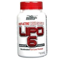 Redukcja tkanki tłuszczowej, Spalacz tłuszczu NUTREX Lipo-6 120 kaps. Najlepszy produkt Najlepszy produkt tylko u nas!