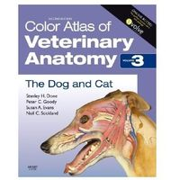Książki popularnonaukowe, Color Atlas of Veterinary Anatomy v 3 (opr. miękka)