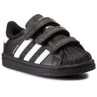 Buty sportowe dla dzieci, Buty adidas - Superstar CF I BZ0419 Cblack/Ftwwht/Cblack