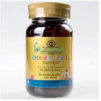 Witaminy i minerały, SOLGAR DHA dla dzieci (Mądre rybki), 90 kapsułek