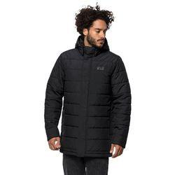 Płaszcz puchowy męski SVALBARD COAT MEN black - S