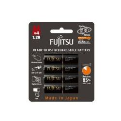 4 x akumulatorki Fujitsu BLACK R6/AA 2550mAh HR-3UTHC