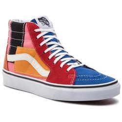 Sneakersy VANS - Sk8-Hi VN0A38GEVMF1 (Patchwork) Multi/True Wh