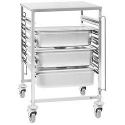 Wózek transportowy - 100 kg - 6 x GN 2/1