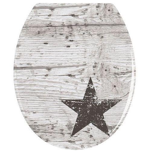 Deski i pokrywy do toalet, Deska sedesowa STAR - Duroplast, WENKO