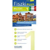 Książki do nauki języka, Fiszki Plus. Włoski dla początkujących 1 (opr. kartonowa)