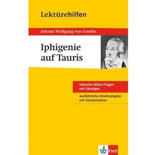 Pozostałe książki, Lektürehilfen Johann Wolfgang von Goethe 'Iphigenie auf Tauris' Müller, Udo